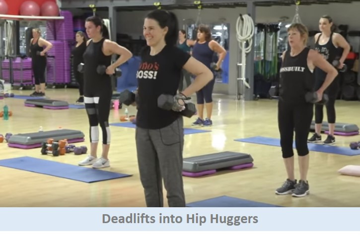 Deadlifts into Hip Huggers
