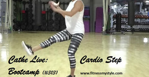 Cathe Live Review: Cardio Step Bootcamp (#313)