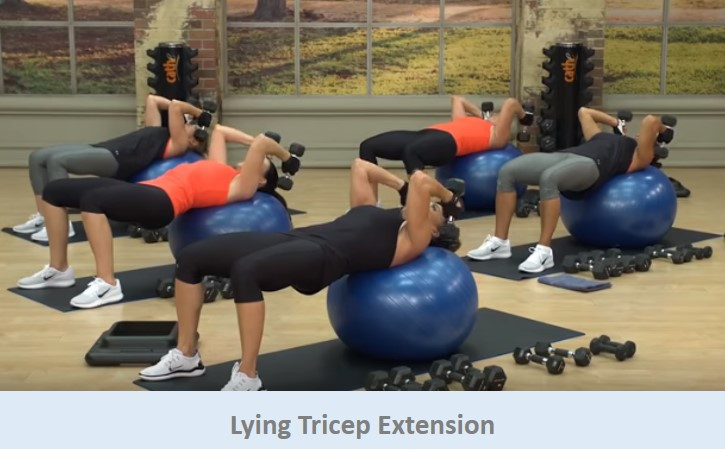 Lying Tricep Extension
