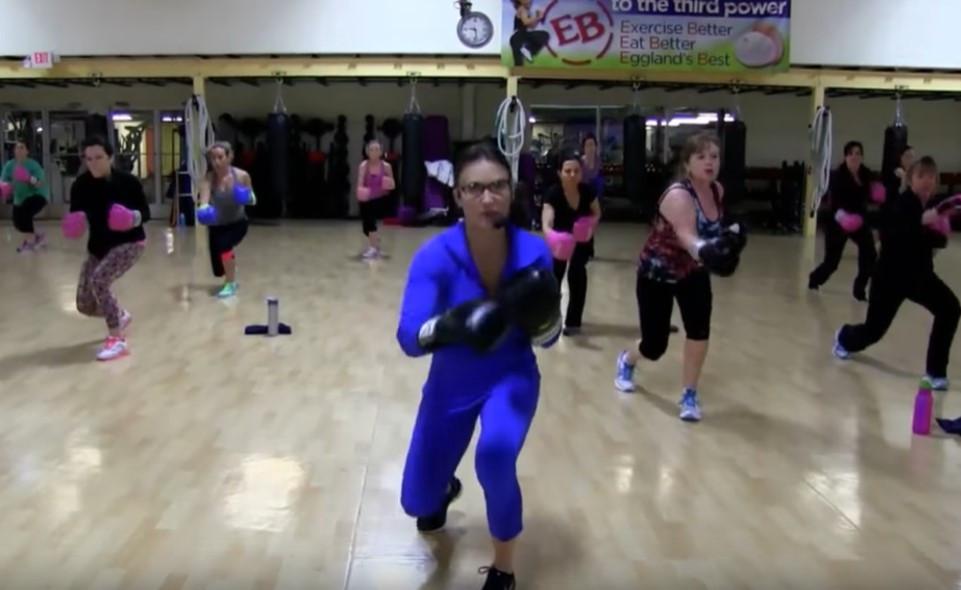 Cathe Live: Hi-Lo Cardio Kickboxing