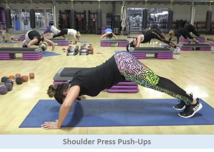 Shoulder Press Pushups