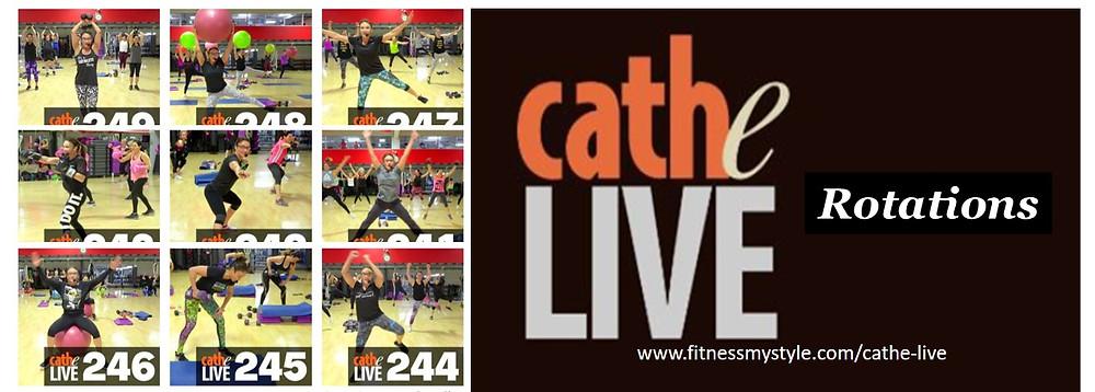 Cathe Live Rotations
