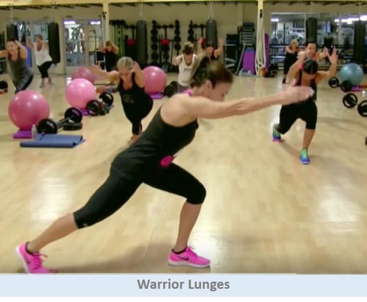 Warrior Lunges