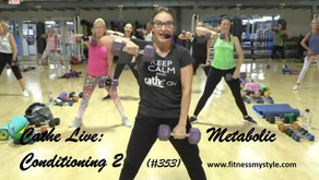 Cathe Live Review: Metabolic Conditioning 2 (#353)