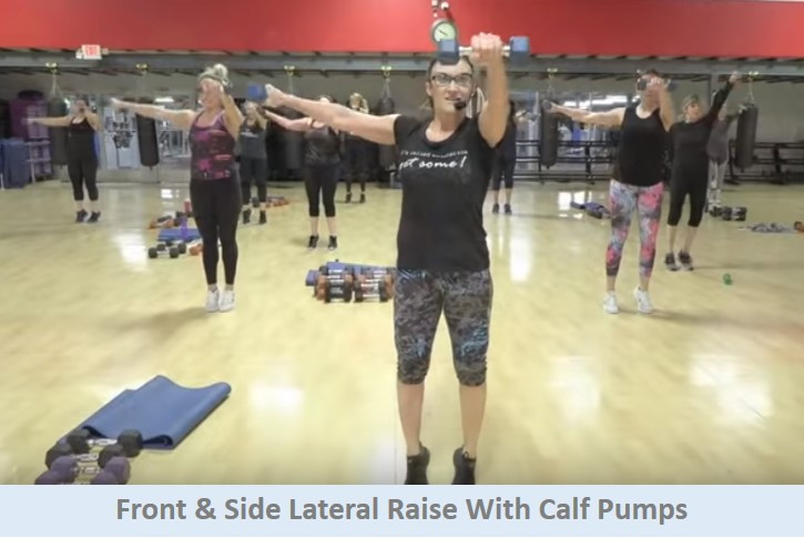 Front & Side Lateral Raise