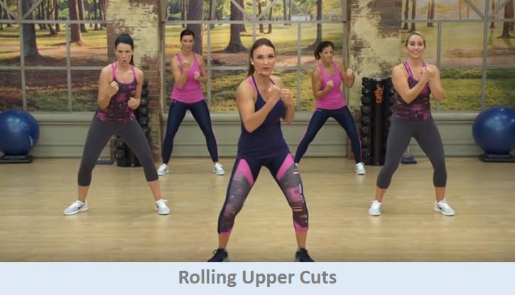 Rolling upper cuts