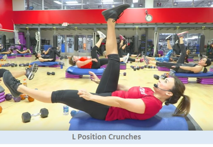 L Position Crunches