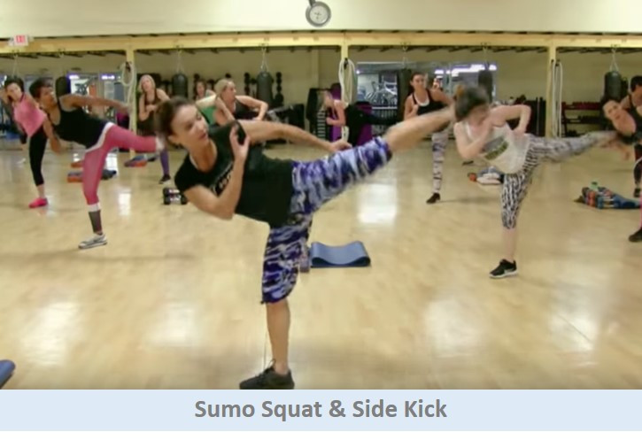 Sumo Squat & Side Kick