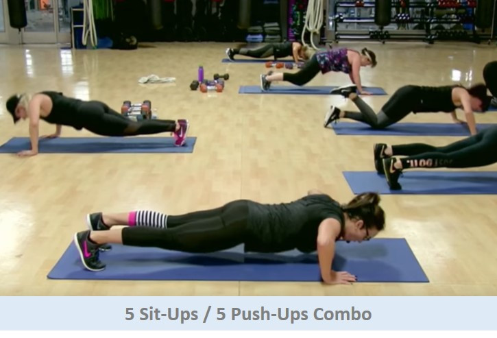 Sit-Up / Push-Up Combo