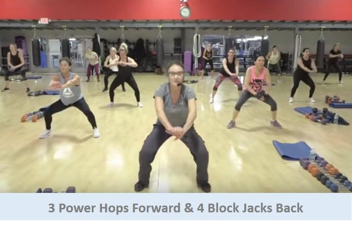 3 Power Hops & 4 Block Jacks