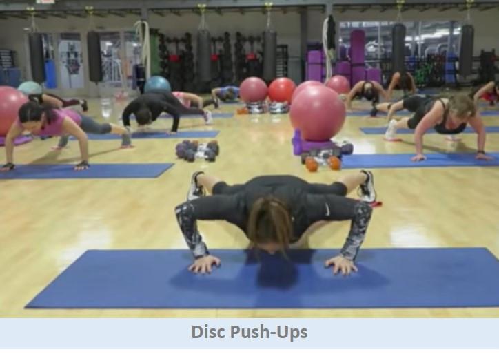 Disc Push-Ups