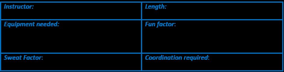 Instructor - Cathe Friedrich, Length - 50 mins, Equipment - 5-15# dbs, step & 3 risers, resistance loop, 2 gliding devices & mat, Fun Factor - 5/5, Sweat Factor 4/5, Coordination 2/5