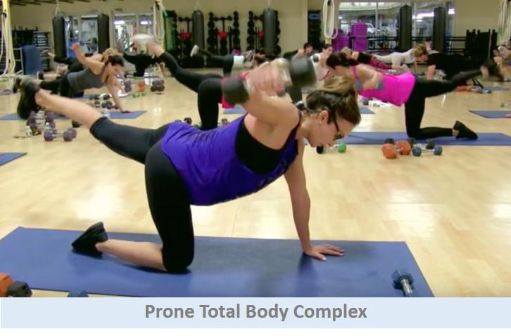 Prone total body complex