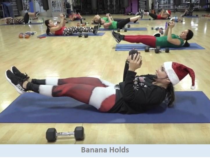 banana holds