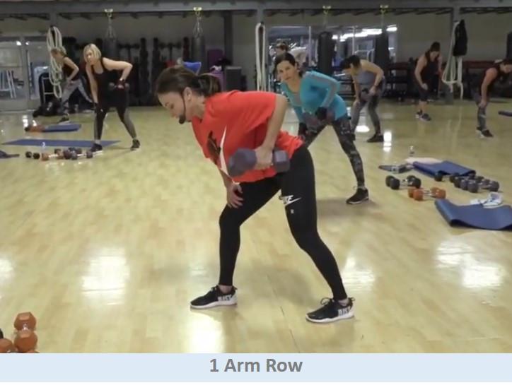 1 Arm Row