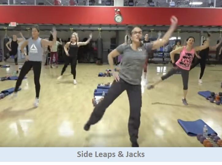 Side Leaps & Jacks