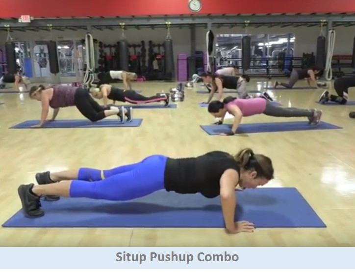 Situp Pushup Combo