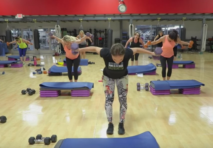 Cathe Live: Toasted Trisets Upper Body
