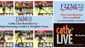 Cathe Live Rotation #3 – High Intensity Cardio & Weights Focus