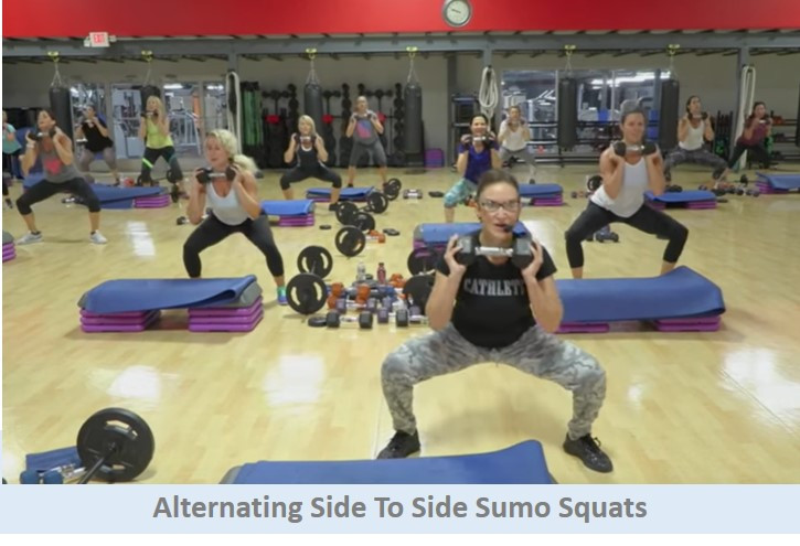 Alternating Sumo Squats
