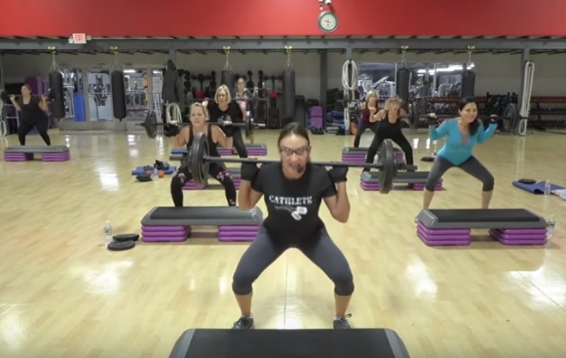 Cathe Live: Total Body Barbell Challenge