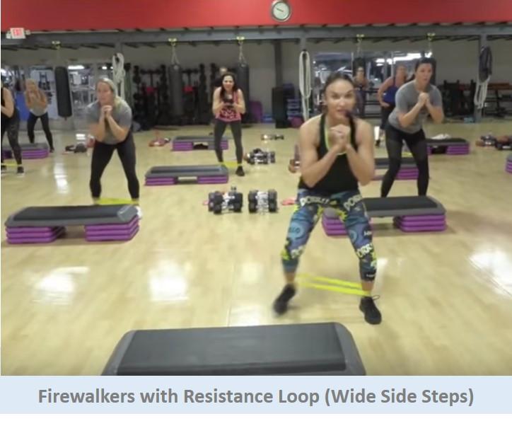 Firewalkers with Resistance Loop