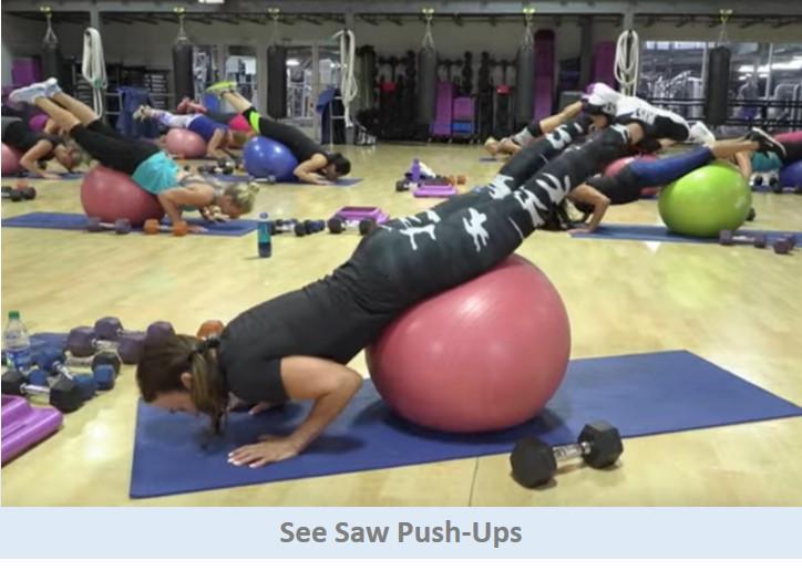 See Saw Push-Ups