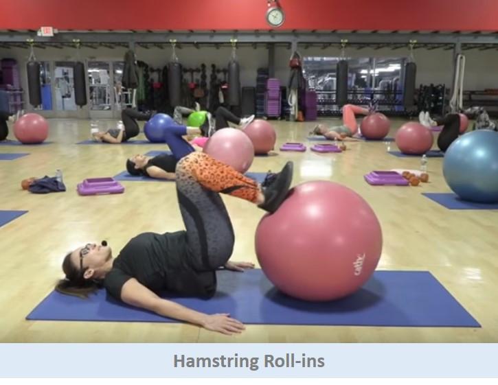 Hamstring Roll-ins