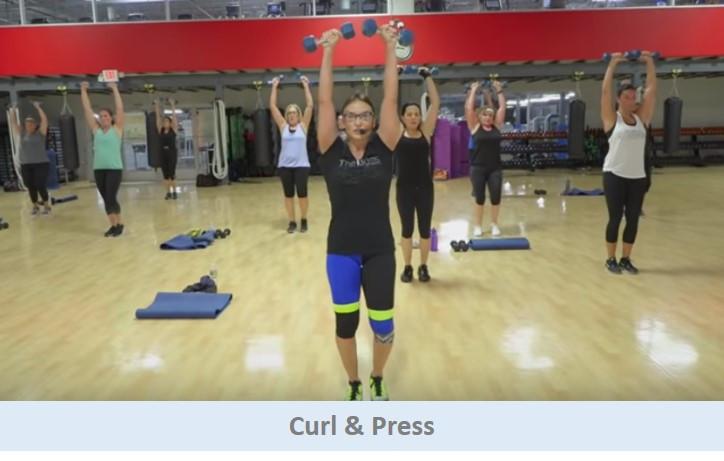 Curl & Press