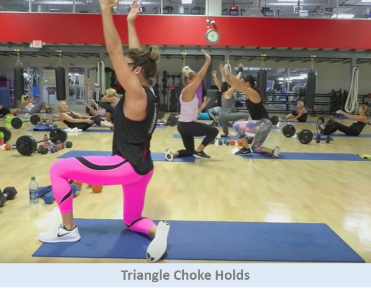 Triangle Choke Holds