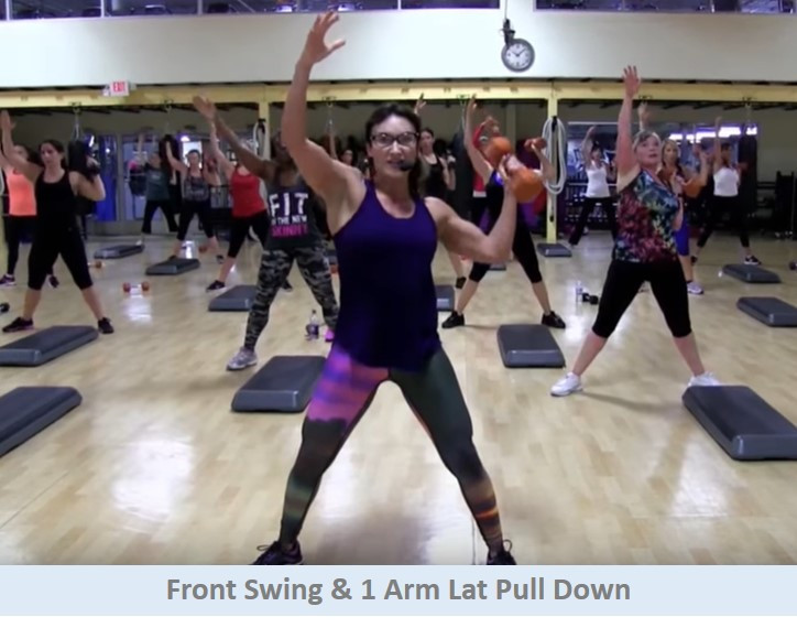 Front swing & lat pull down