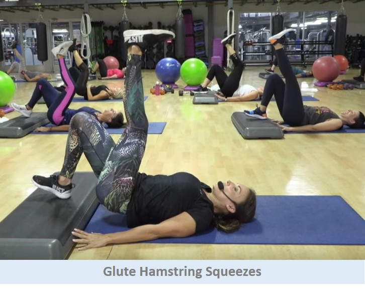 Glute Hamstring Squeezes