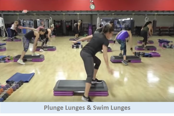 Plunge Lunges & Swim Lunges