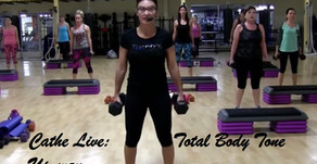 Cathe Live Review: Total Body Tone Up (#80)
