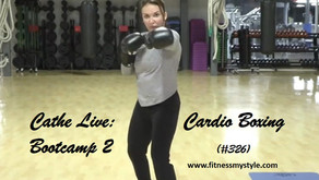 Cathe Live Review: Cardio Boxing Bootcamp 2 (#326)