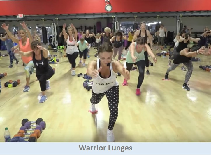 Warrior Lunges