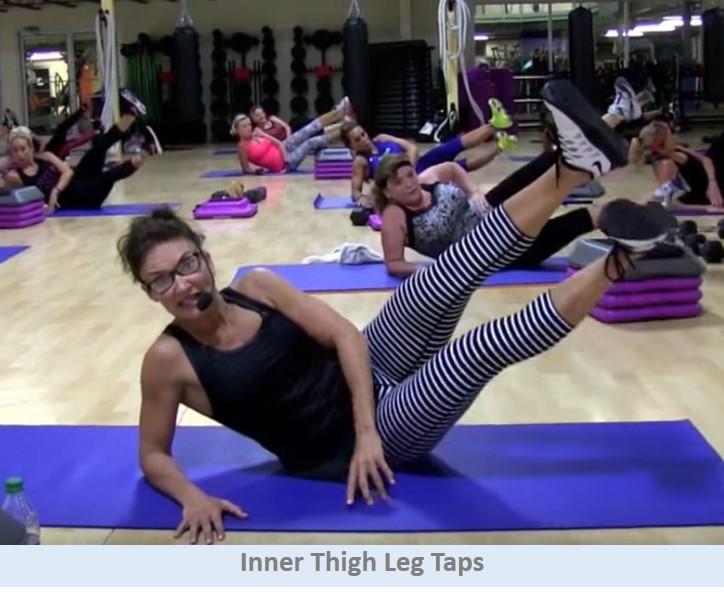 Inner Thigh Legs Taps