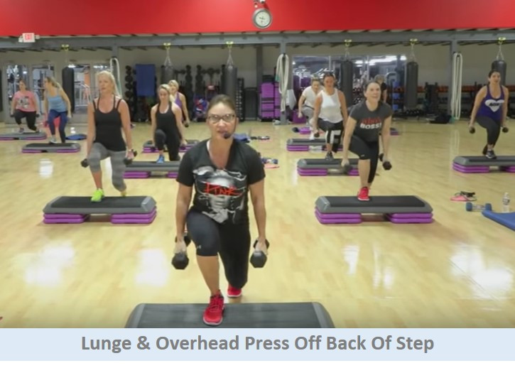 Lunge & Overhead Press