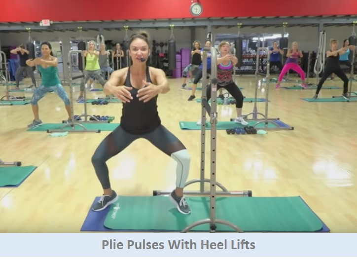 Plie Pulses with Heel Lifts