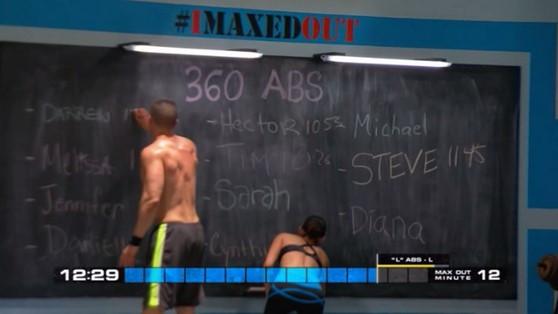 Insanity Max 30 Chalkboard