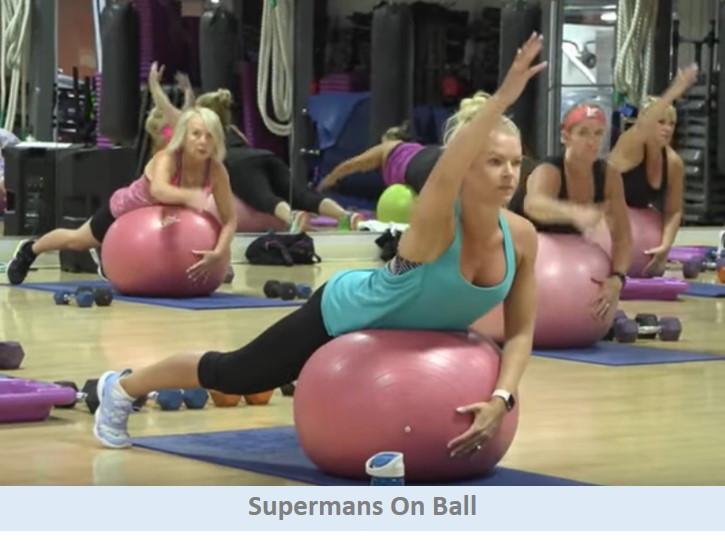 Supermans on Ball