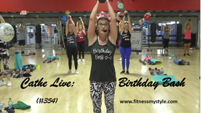 Cathe Live Review: Birthday Bash (#354)
