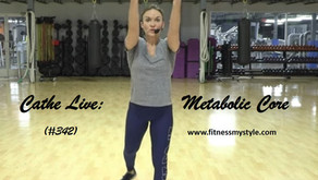 Cathe Live Review: Metabolic Core (#342)