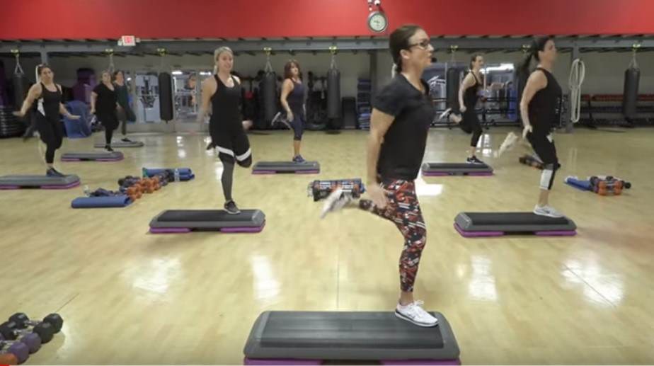 Cathe Live: Step Sweat & Lift