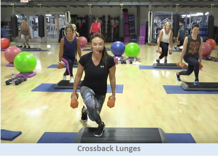 Crossback Lunges