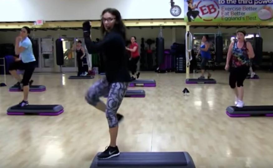 Cathe Live: Step Sweat
