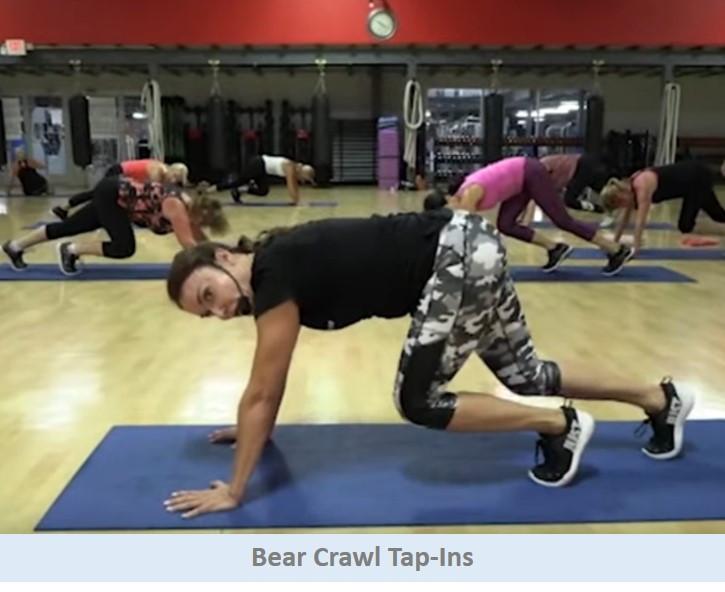 Bear Crawl Tap-Ins