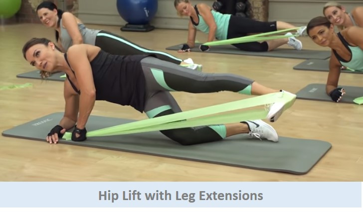 Hip Lift with Leg Extensions