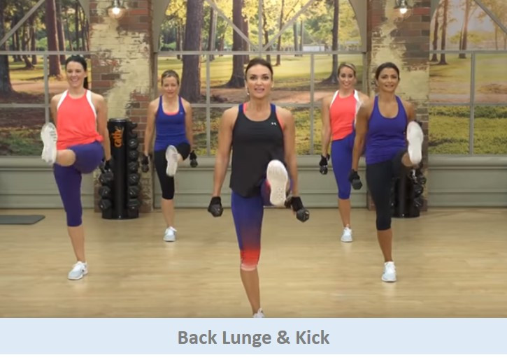 Back Lunge & Kick