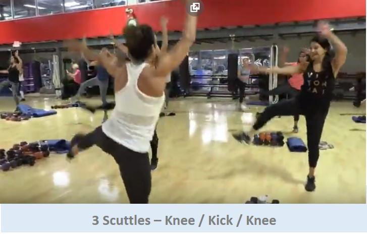 3 Scuttles - Knee / Kick / Knee